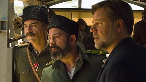 The Water Diviner filminin kamera arkası