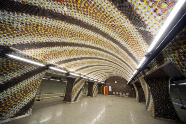 Göz Alıcı Metro İstasyonları
