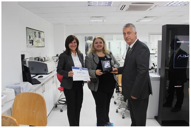 Opak Lens Aydın Üniversitesinde 2014