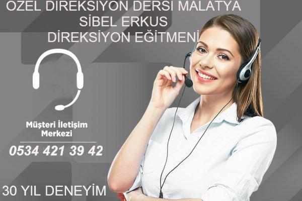 Malatya Özel Direksiyon Dersi Bayan sibel erkus 05344213942
