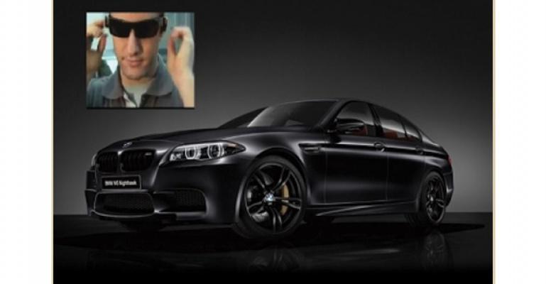 BMW' den Devrim niteliğinde gözlük.