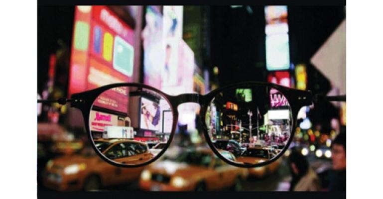 Gözlük penceresinden New York!