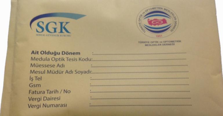 Sgk Ocak 2014 Dönemi Zarf Teslimatı!