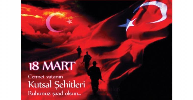 18 Mart Çanakkale Zaferimiz Kutlu olsun.