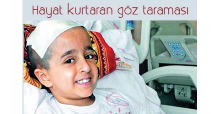 İzmir'de hayat kurtaran göz taraması