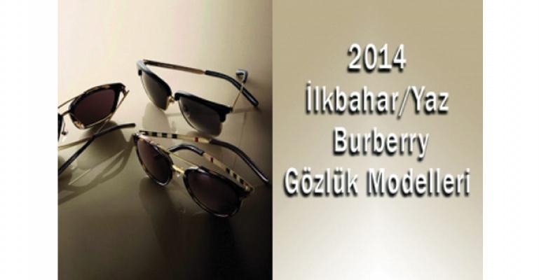 2014 İlkbahar/Yaz Burberry Gözlük Modelleri
