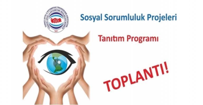 TOOMD Sosyal Sorumluluk Projeleri Tanıtım Programı.