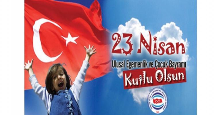 Turgut Vardi'den 23 Nisan Mesajı