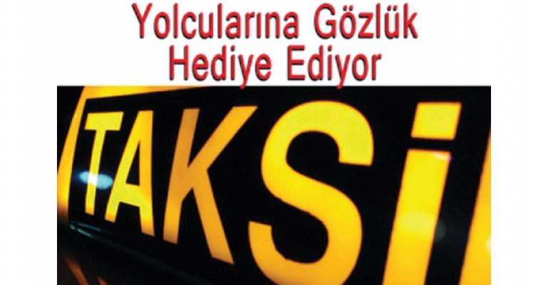 Ankaralı taksiciden sıra dışı hizmet