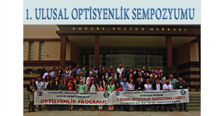 ESOGÜ' de 1.Ulusal Optisyenlik Sempozyumu (UOS'1)