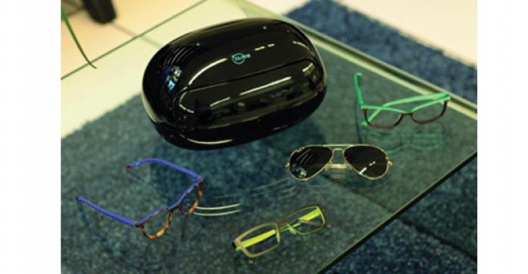 Dünyanın ilk otomatik gözlük temizleme cihazı