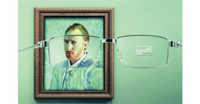 Yaratıcı Gözlük Reklamı