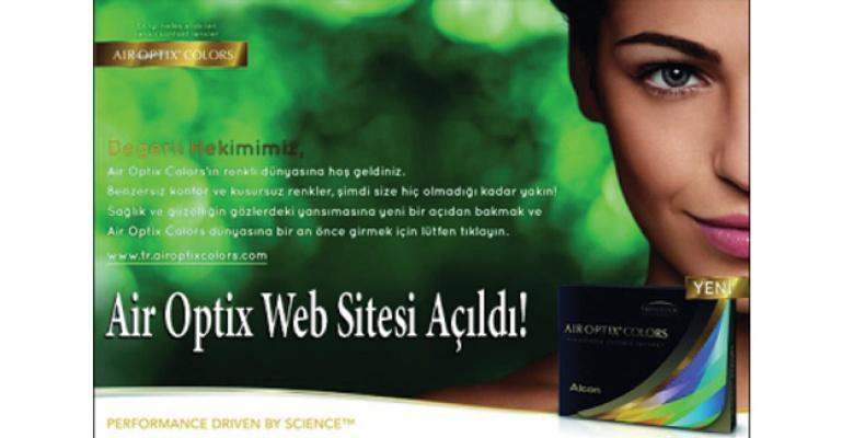 Air Optix Web Sitesi Açıldı!