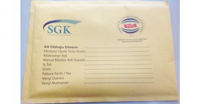 SGK Zarf Teslimatı - Temmuz 2014 Dönemi