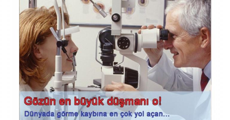 Görme kaybının en büyük sebebi: Diyabetik Retinopati