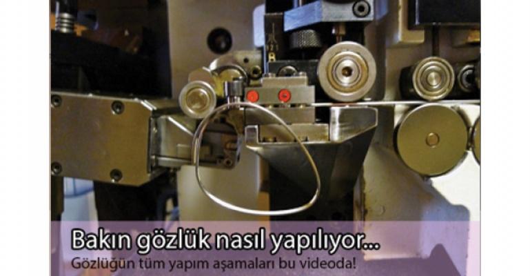 Gözlükler nasıl üretiliyor?