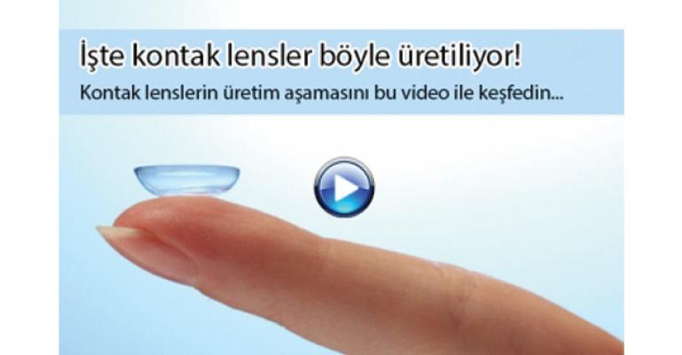 İşte kontak lensler böyle üretiliyor!