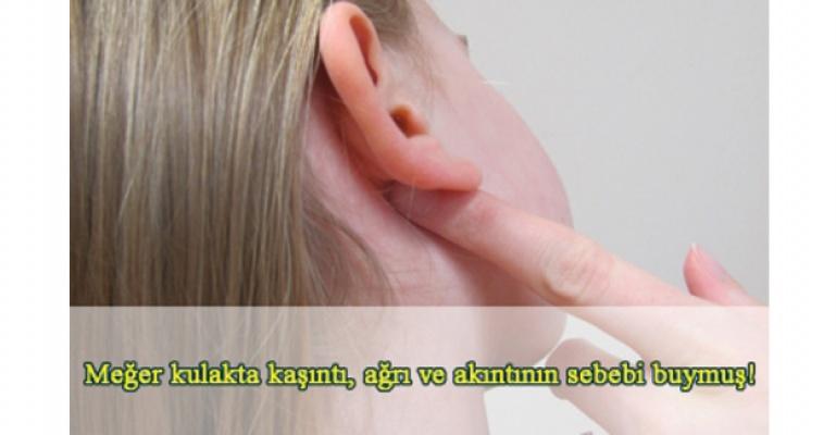 Kulakta kaşıntı, ağrı ve akıntının sebebi ıslaklıkmış!