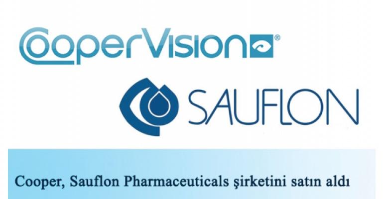 The Cooper Companies, Sauflon Pharmaceuticals şirketini satın aldı