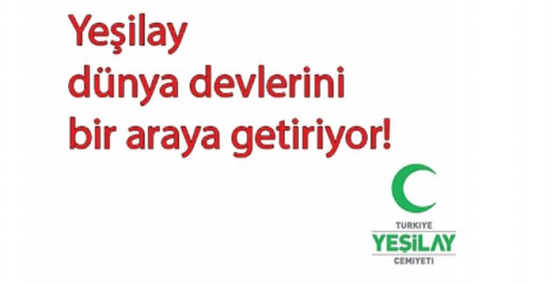 Yeşilay'dan 50 ülkenin katılımıyla dev sempozyum!