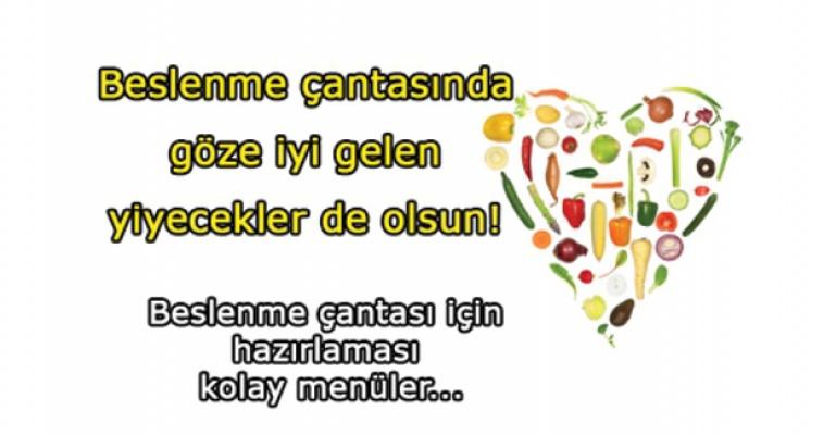Beslenme çantasında göz sağlığı için de besinler bulunsun!