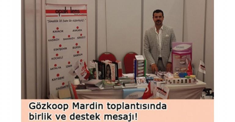 Gözkoop Mardin toplantısına yoğun destek