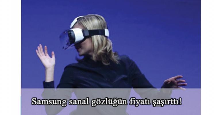 Samsung Gear VR sanal gözlüğün fiyatı belli oldu