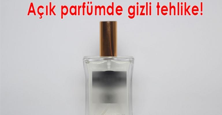 Uzmanlar, açık parfümler konusunda uyarıyor.