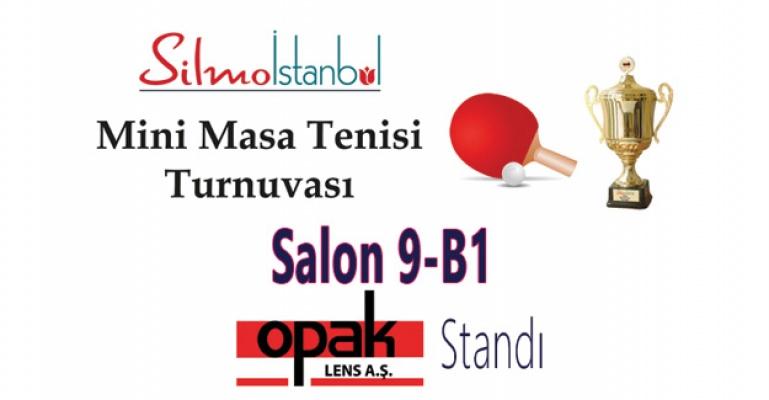 Silmoİstanbul'da Mini Masa Tenisi Turnuvası