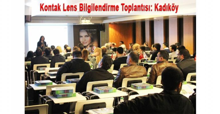 2015 Kontak Lens Bilgilendirme Toplantılarının 3.sü Kadıköy'de Yapıldı