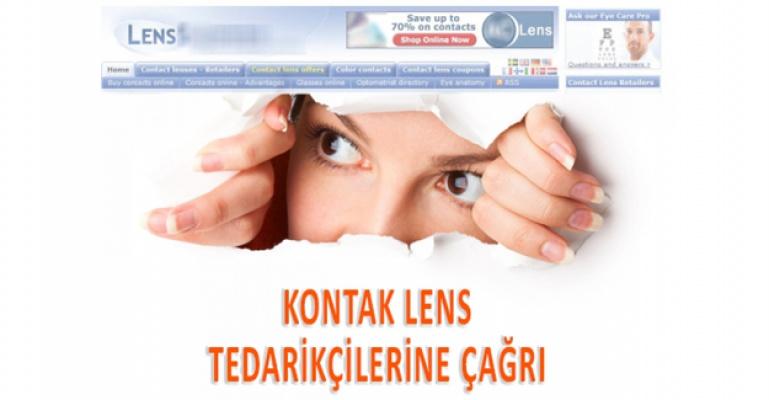 Kontak Lens Tedarikçilerine Çağrı