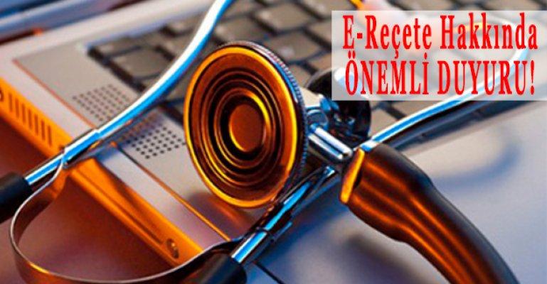 E-Reçetelerin Elektronik İmza İle İmzalanacağı Tarih Belli Oldu!