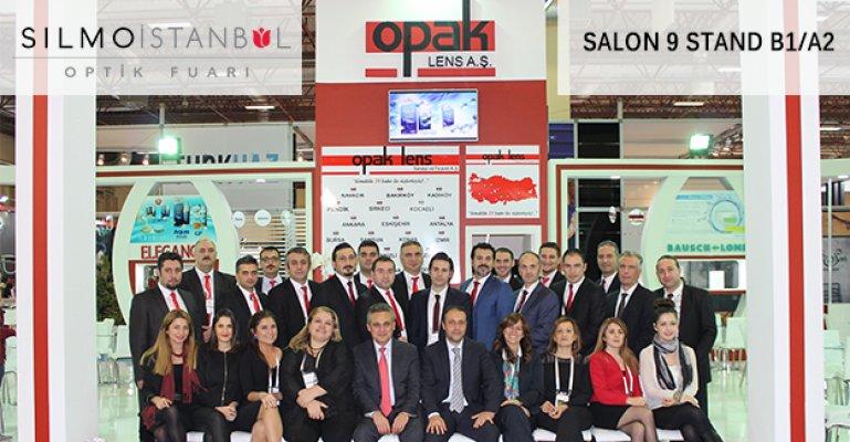 Opak Lens Silmoİstanbul 2015 Fuarında!