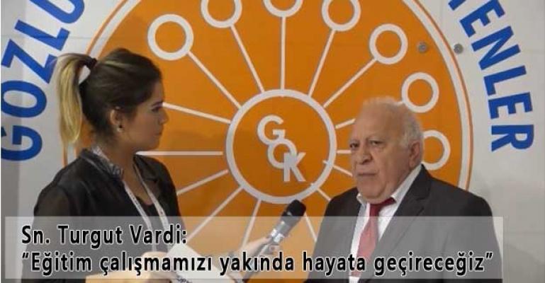 Silmo İstanbul 2015 Optik Fuarı Sn. Turgut Vardi Röportajımız