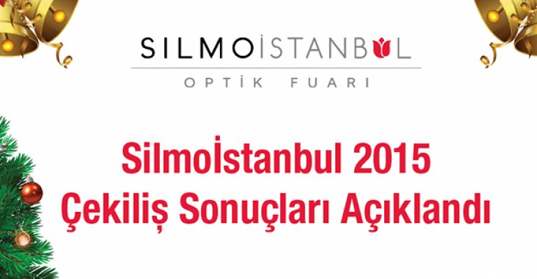 Silmo İstanbul 2015 Çekiliş Sonuçları