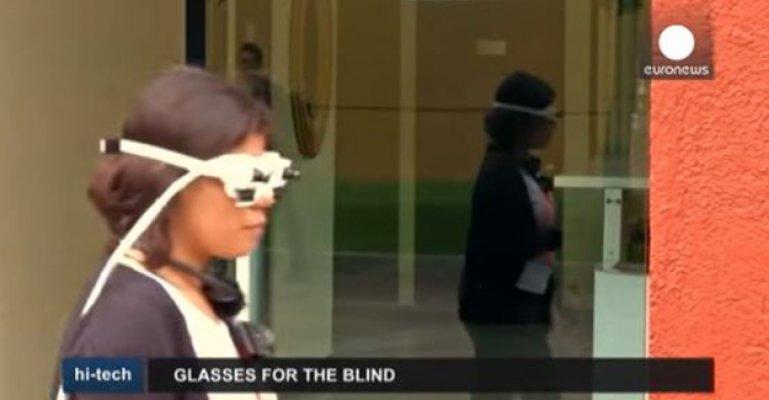 Görme Engelliler İçin Umut Olacak Gözlük Geliştiriliyor