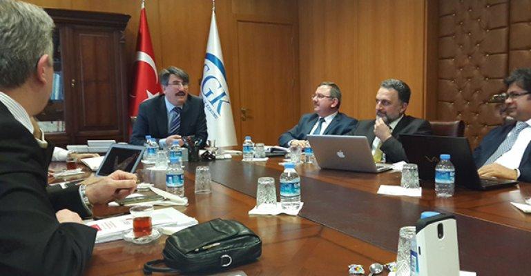 SGK Başkanlığı Toplantısı Gerçekleştirildi