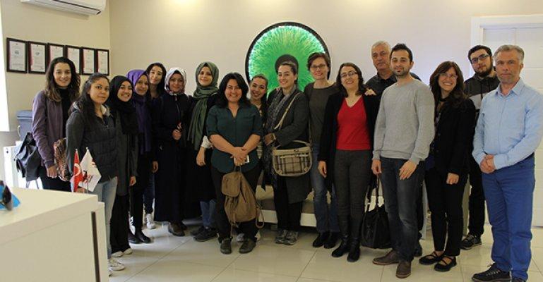 Acıbadem Üniversitesi Optisyenlik Bölümü Öğrencilerinden Opak Lens'e Ziyaret!