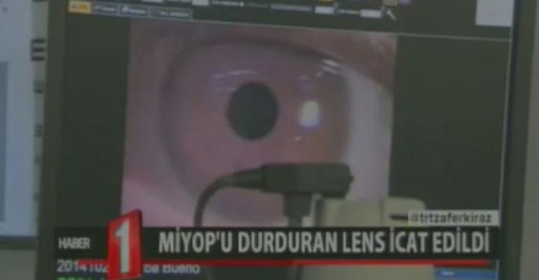 Bilim İnsanları Miyop Hastalığını Engelleyen Lens Üretmeyi Başardı