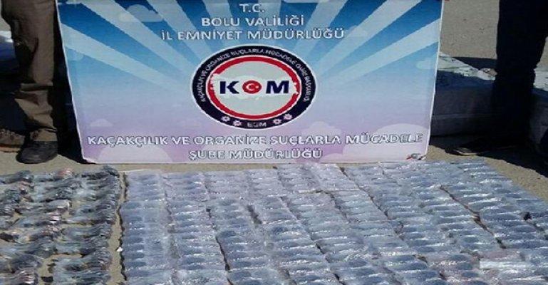Bolu'da Kaçak Gözlük Operasyonu
