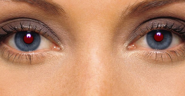 Fotoğraflarda Gözler Neden Kırmızı Çıkar?