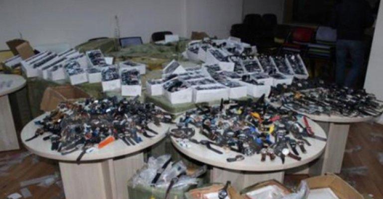 Tosya'da Kaçakçılık Operasyonu