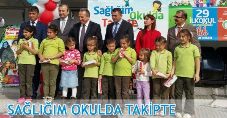 Bin 988 çocuk sağlık taramasından geçti.