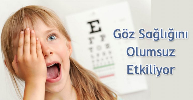 Çocukların göz sağlığını korumanın yolları