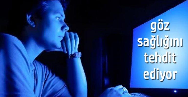 Dijital ekranlar, göz sağlığını tehdit ediyor.