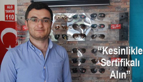 Sahte Güneş Gözlükleri Görme Bozukluğuna Yol Açabilir