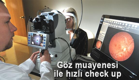 Göz muayenesinde birçok hastalığa erken tanı konulabilir