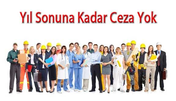 İş Sağlığı ve Güvenliği Yıl Sonuna Kadar Cezai Müeyyide Yok