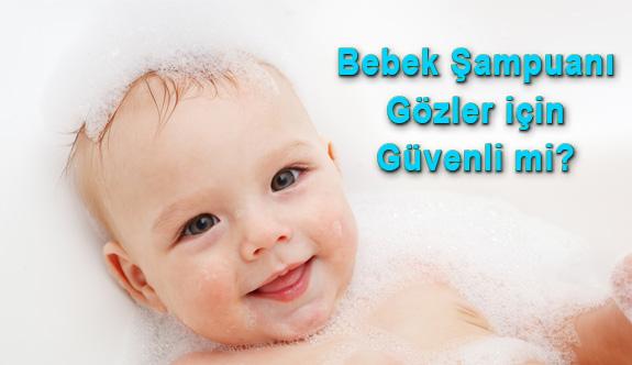 Göz kapaklarınıza Bebek Şampuanı Kullanmayın
