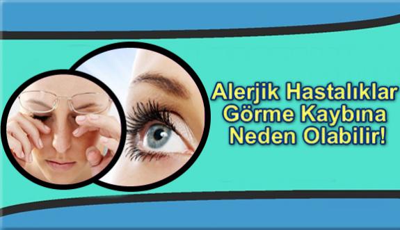 Alerjik Hastalıklar Görme Kaybına Neden Olabilir!